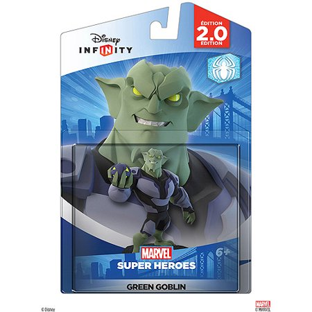 Disney Infinity: Marvel Super Heroes (2.0 Edition) Green Goblin Figure - Marvel Kids Com Create A Superhero