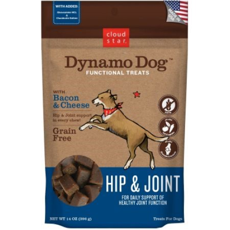 Cloud Star Dynamo Dog Functional Soft Chews: Hip & Joint - Bacon & Cheese, 14 oz
