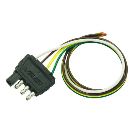 wesbar trailer wiring diagram wesbar 707285 4-way flat wiring trailer wire wiring ... #12