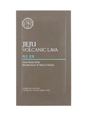 The Face Shop Jeju Volcanic Lava Aloe Nose Masks, 7 Strips