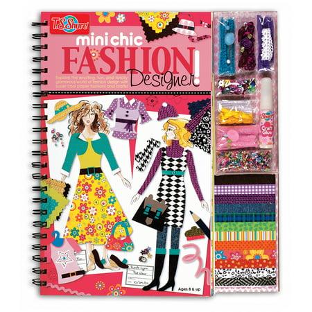 T.S. Shure Mini Chic Fashion Designer Book and Kit (Fashion Designer Sketches)