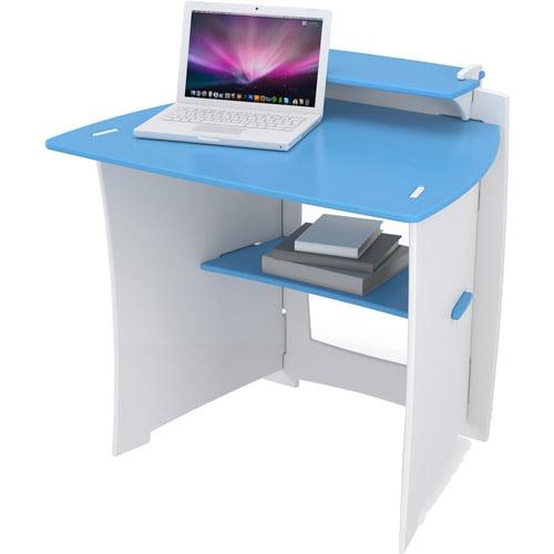 Legare Kids 34 In Desk With Shelf Blue And White
