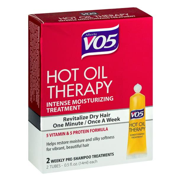 VO5 Hot Oil Hair Treatment, 2 Tubes, 0.5 fl oz - Walmart.com - Walmart.com