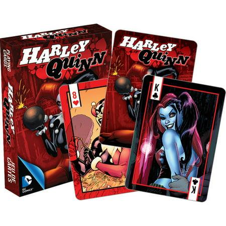 DC Comics Harley Quinn Comics Playing - Harley Quinn Birthday Card