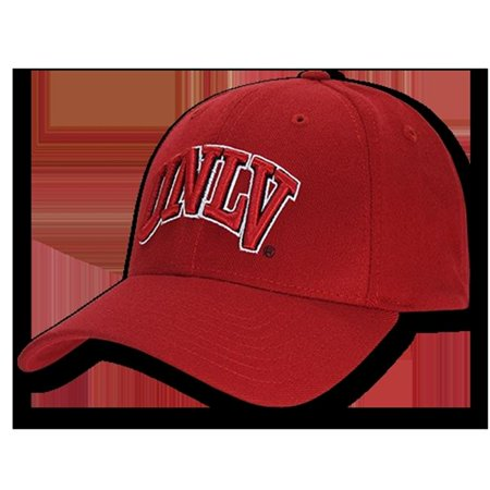 UNLV Low Constructed Flex Acrylic Cap, Red - image 1 of 1