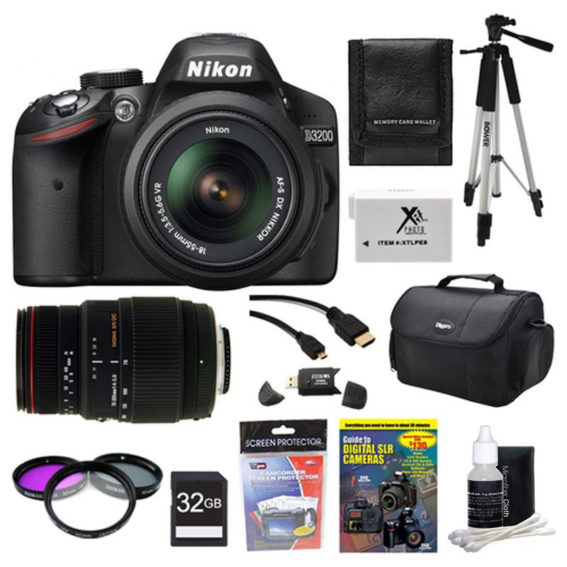 Nikon d3200 bundle deals 300mm