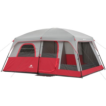 Ozark Trail 10 Person 2 Room Cabin Tent Camping Outdoor 14