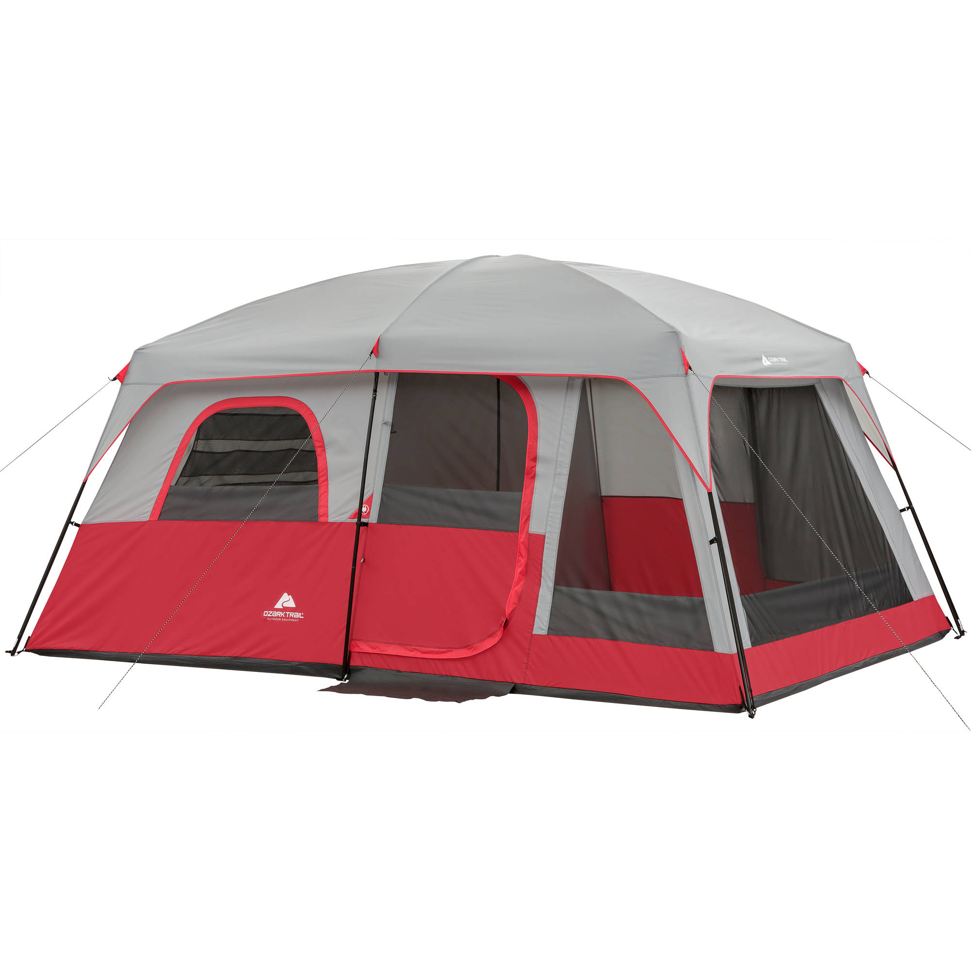 Ozark Trail 10 Person 2 Room Cabin Tent  sc 1 st  Walmart.com & Ozark Trail 10 Person 2 Room Cabin Tent - Walmart.com