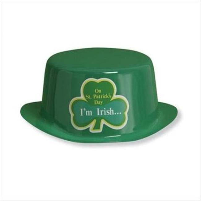 Hoffmaster Group 203070CD St. Patricks Day Plastic Hat Co...