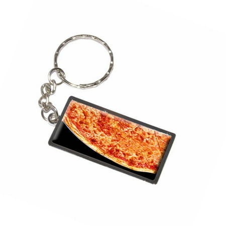 Pizza Pie New York Style Cheese Keychain Key Chain