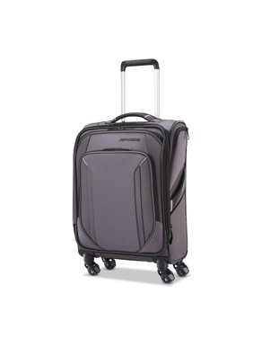 "American Tourister Axion 19"" Softside Carry-on Spinner Luggage"
