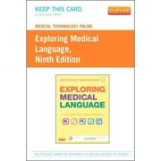 Medical Terminology Online for Exploring Medical Language (Access Card), 9e, 9781455758296, Printed Access Code, 9