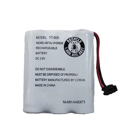 Replacement For Uniden BT-1006 Cordless Phone Battery (600mAh, 3.6V, NiCD) - Nicd Cordless Phone Battery
