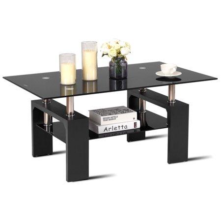 Black Glass Living Room Furniture Magnificent Inspiration Design