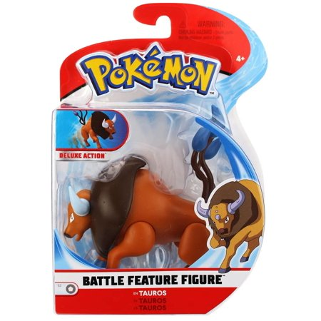 Pokemon Series 2 Battle Feature Figure Tauros Figure (2 Figure Pokemon)