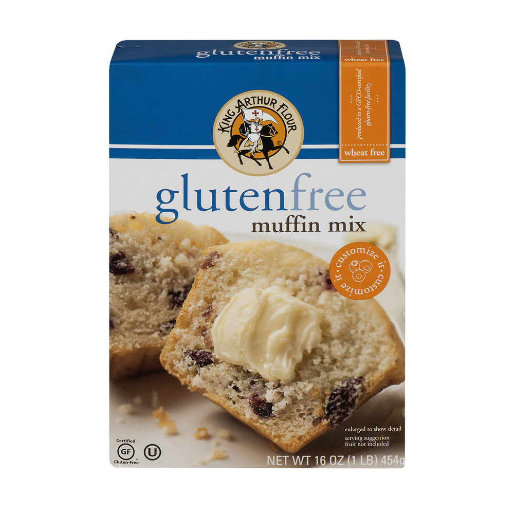 King Arthur Flour Gluten Free Muffin Mix, 16.0 OZ