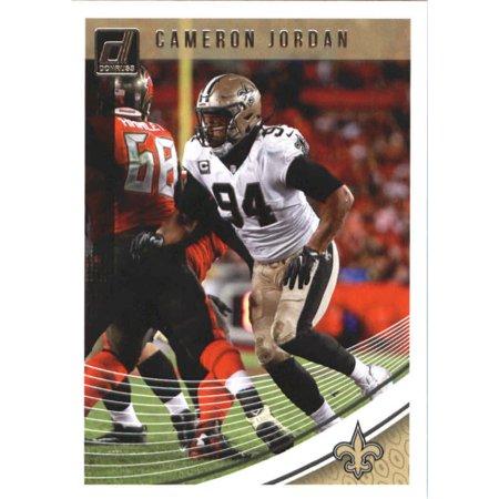 2018 Donruss #297 Cameron Jordan New Orleans Saints Football Card (2018 Jordans)