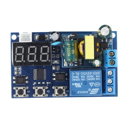 AC 110~250V LED Display Automation Digital Delay Timer Control Relay Switch Module