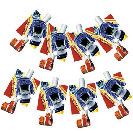 Hot Wheels Fast Action Blowouts 8ct, By Factory Card and Party Outlet - Factory Card Outlet Halloween Costumes