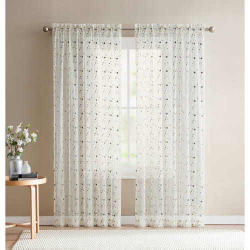 Better Homes and Gardens Vintage Rose Window Curtain Panel