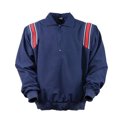 3N2 7200-03-M Umpire Half-Zip Jacket, Navy Blue - Medium
