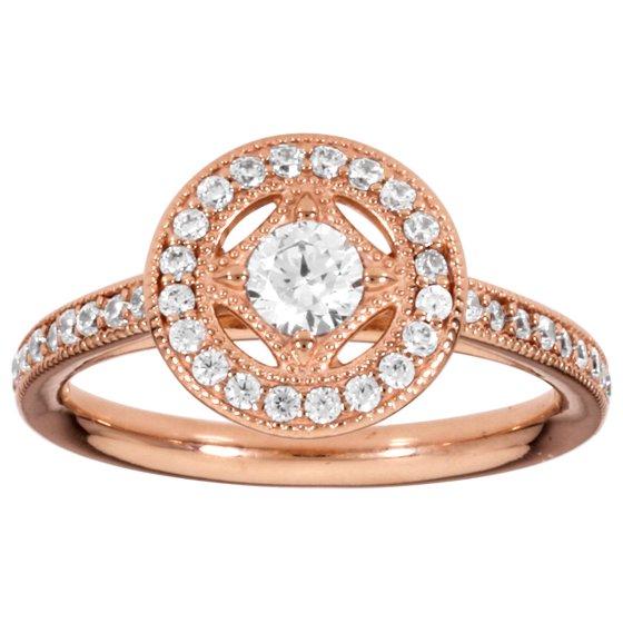 Pandora Pandora Rose Vintage Allure Ring Size 7 With
