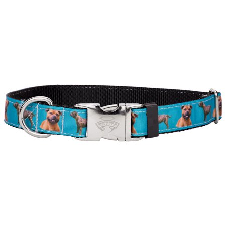 Country Brook Design® Premium Staffordshire Bull Terrier Ribbon Dog