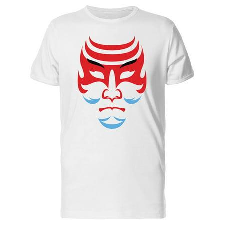 Kabuki Japanese Drama Mask Tee Men's -Image by Shutterstock