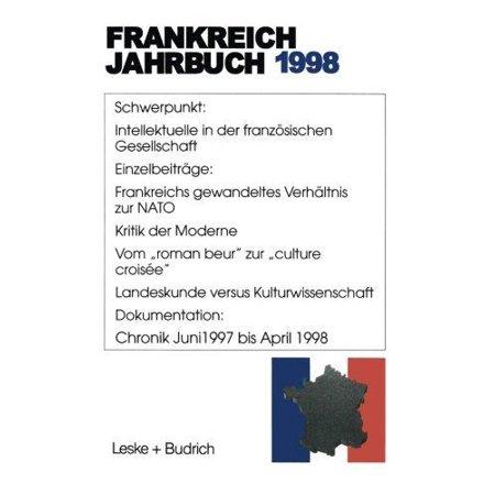 Frankreich Jahrbuch 1998  Politik  Wirtschaft  Gesellschaft  Geschichte  Kultur