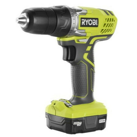 Factory-Reconditioned Ryobi ZRHJP004 12V Cordless Lithium-Ion 3/8 in. Keyless Drill Driver(Refurbished)