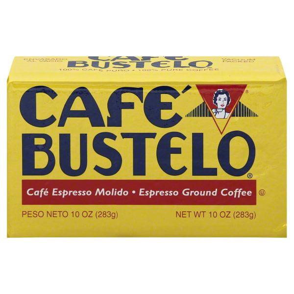 (3 Pack) Caf Bustelo Ground Coffee, Dark Roast, 10-Ounce Brick