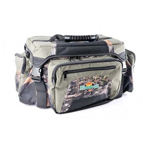 Flambeau Camo Soft Tackle System/Bag Small with Three 3003 Tuff Tainers 6330TF