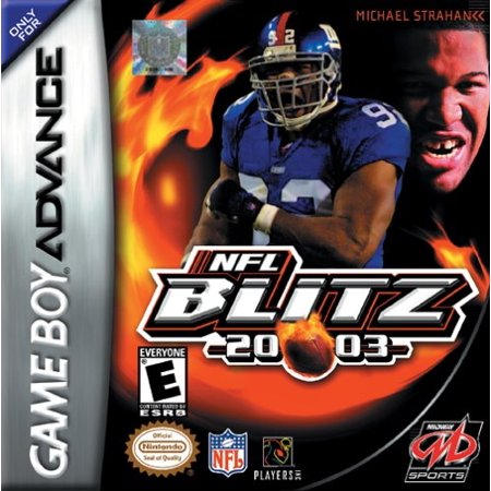 NFL Blitz 20-03 - Nintendo Gameboy Advance GBA (Refurbished) 2003 Alcs Game 7
