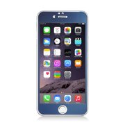 MUNDAZE Blue Tempered Glass Screen Protector For Apple iPhone 6 PLUS/6S PLUS