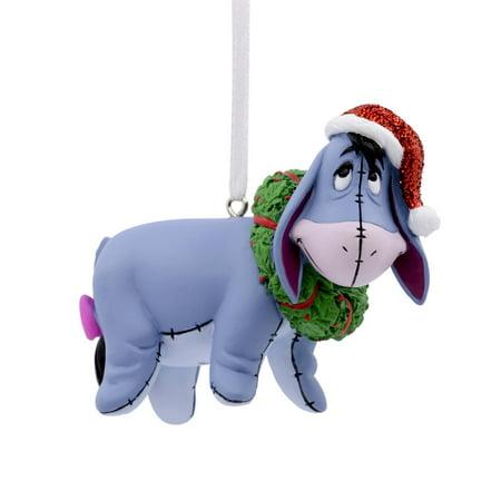 Hallmark Disney Winnie the Pooh Eeyore With Wreath Christmas Ornament - Hallmark Disney Winnie The Pooh Eeyore With Wreath Christmas Ornament