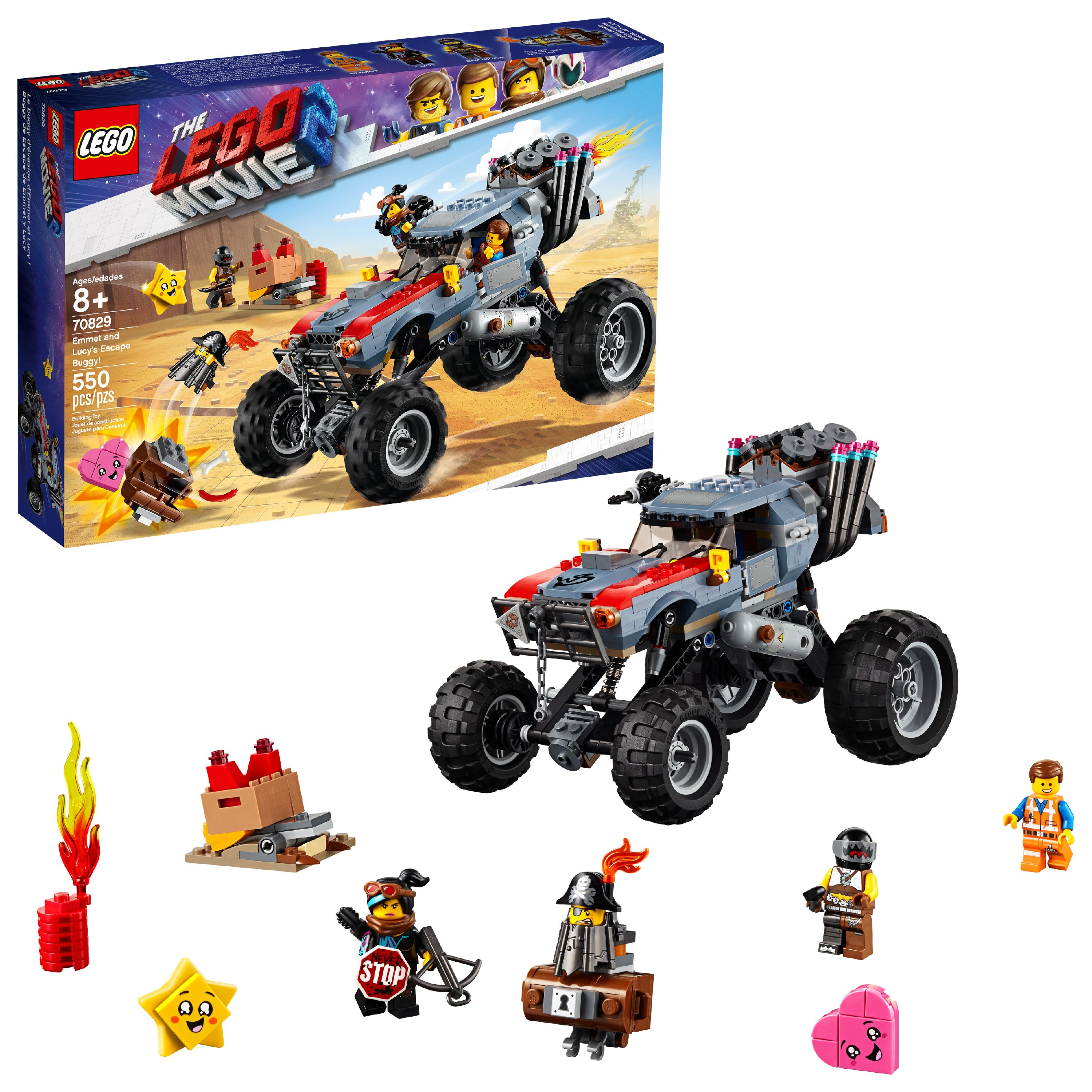 LEGO Movie Emmet and Lucy's Escape Buggy! 70829
