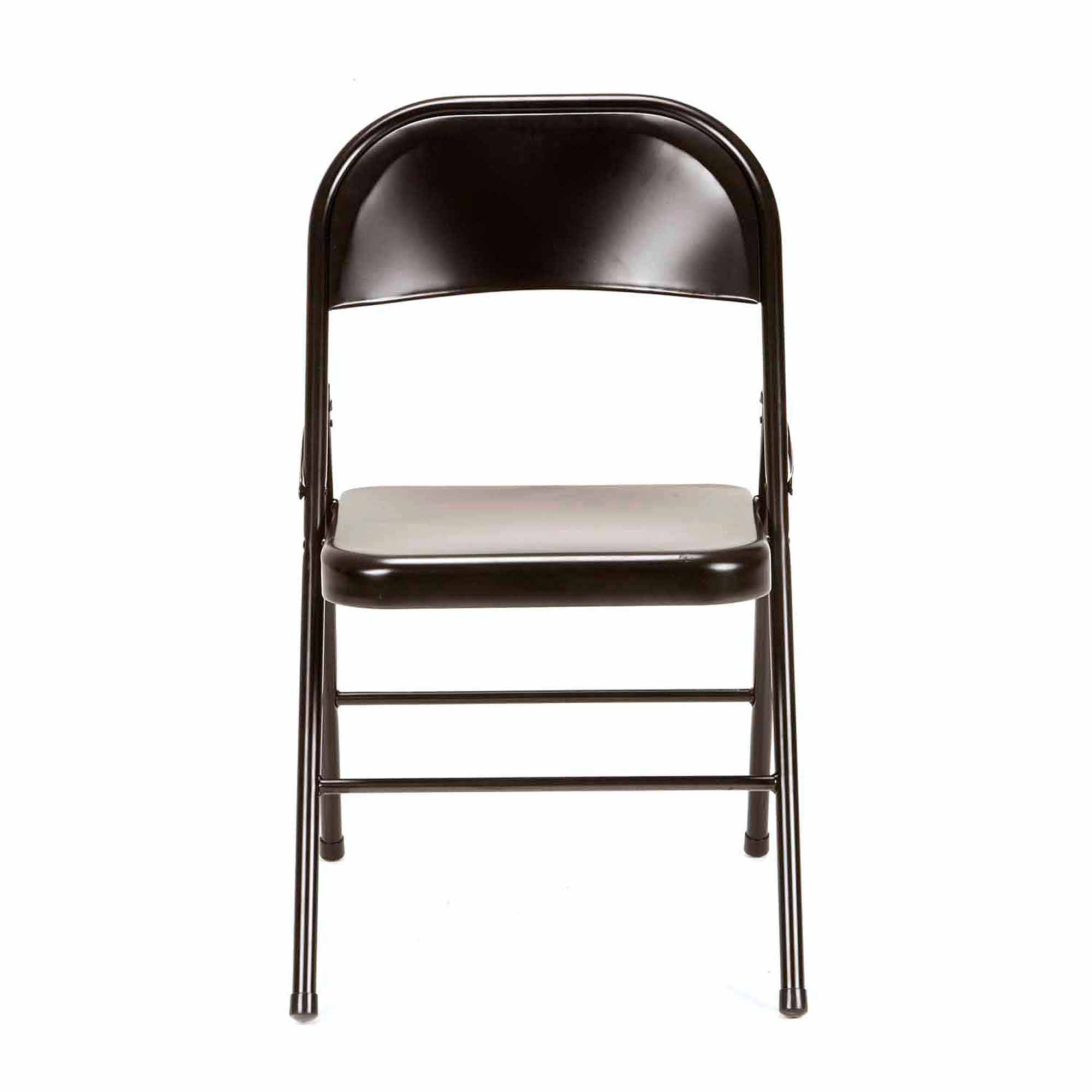 Mainstays Steel Folding Chair (4-Pack), Black - Walmart.com