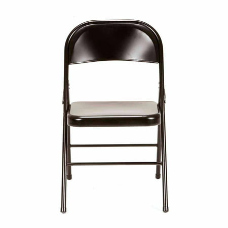 Mainstays Steel Chair Set Of 4 Multiple Colors Walmart Com