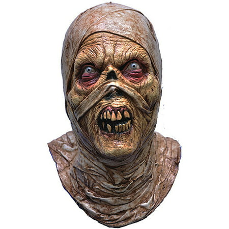 Evil Mummy Adult Halloween Mask Accessory - Mummy Halloween Face