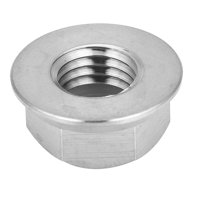 LYUMO 1pc M5 M6 M8 M10 M14 Titanium Alloy Flange Lock Nut for Bicycle Motorcycle, Flange Nut,Bicycle Flange Nut