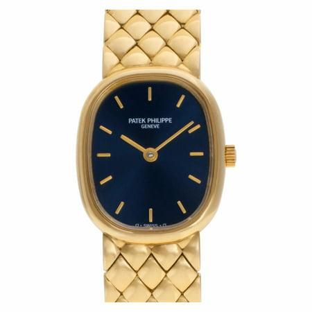 Pre-Owned Patek Philippe Ellipse 4764/011 Gold Women Watch (Certified Authentic & Warranty)