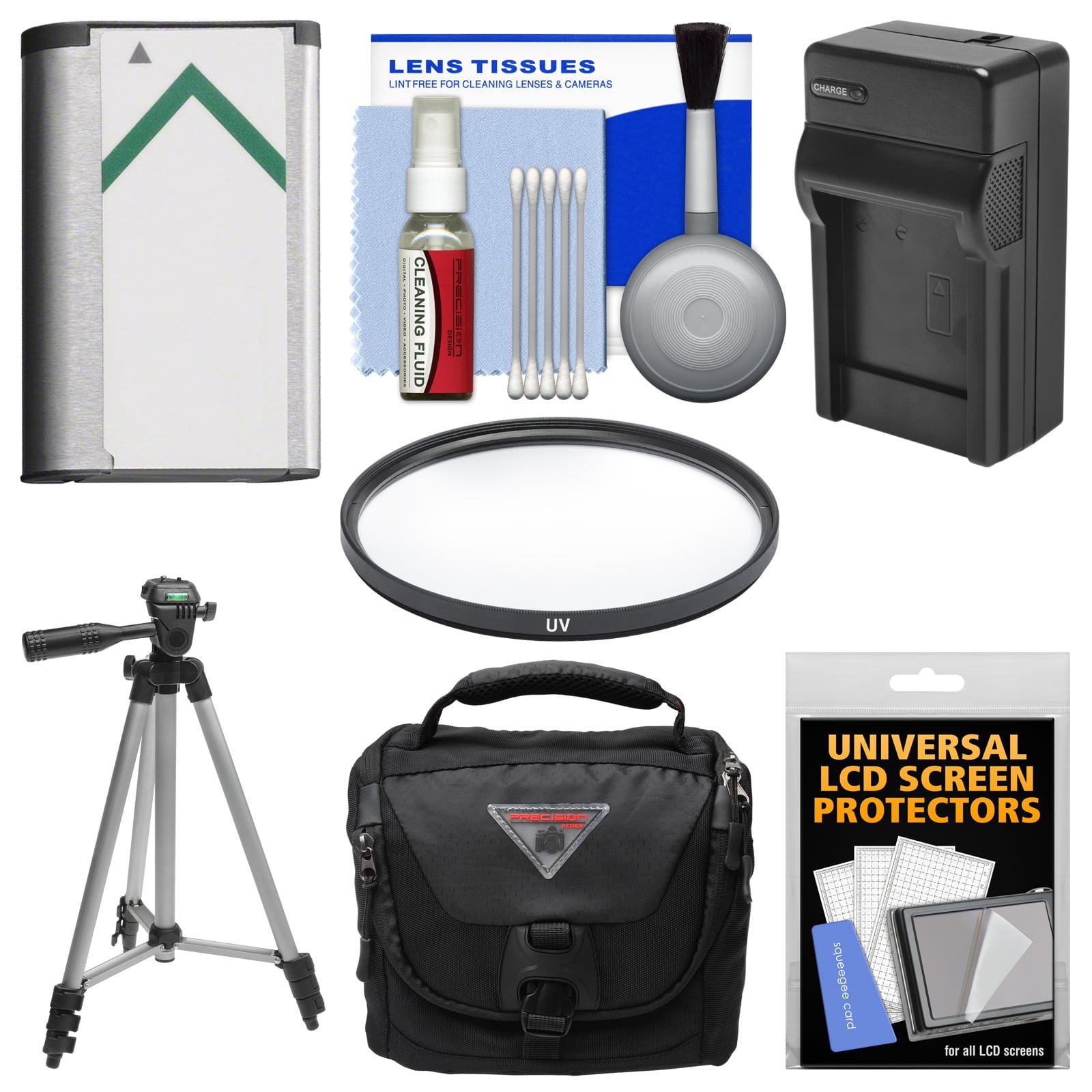 Essentials Bundle for Sony Cyber-Shot DSC-H400, DSC-HX350, & DSC-HX400V Digital Camera with Case + NP-BX1 Battery & Charger + Tripod + UV Filter + Kit