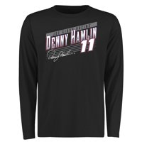 Denny Hamlin Crank Shaft Long Sleeve T-Shirt - Black
