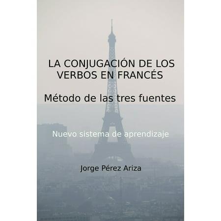 La conjugación de los verbos en francés - eBook