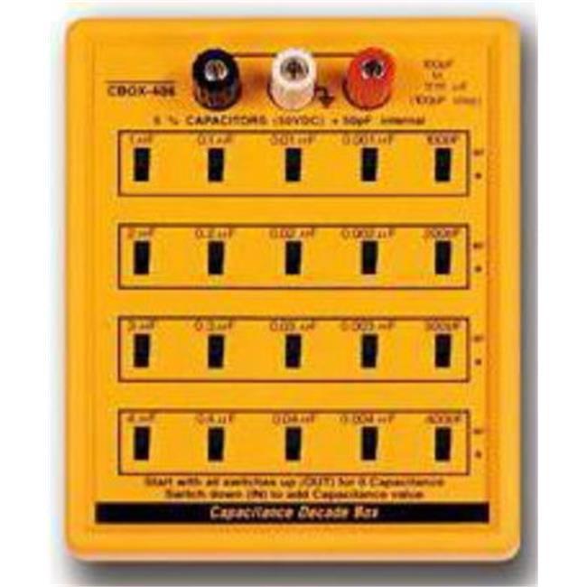 RSR ELECTRONICS CBOX406 7. 5''L x 6''W x 2. 75''H Cap Sub Box