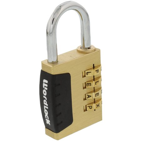 WordLock(R) PL-056-SL 4-Dial Combination Sports Lock - image 1 de 1
