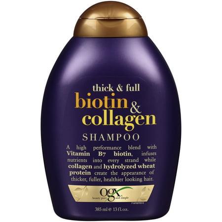 OGX Thick & Full Biotin & Collagen Shampoo, 13 Oz
