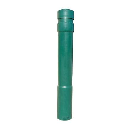 Vestil Manufacturing BPC-DA-FG 52 in. Arch Bollard Cover - Green