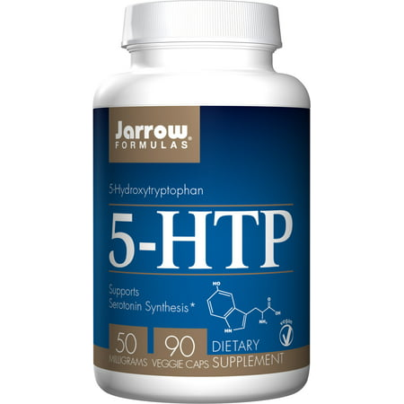 Jarrow Formulas 5-HTP 50mg, Brain and Memory Support, 90 (Support 90 Caps)