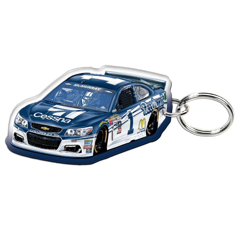 Jamie McMurray WinCraft Car Acrylic Key Ring - No Size